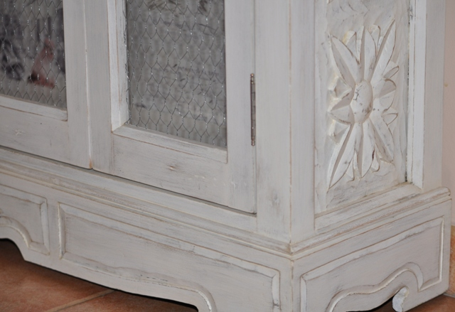 mueble de estilo castellano totalmente transformado